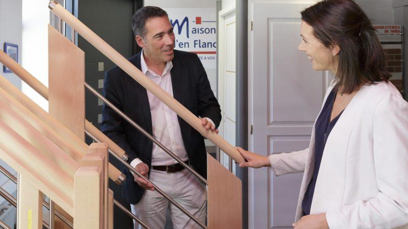 Choix matériaux Maisons d'en Flandre