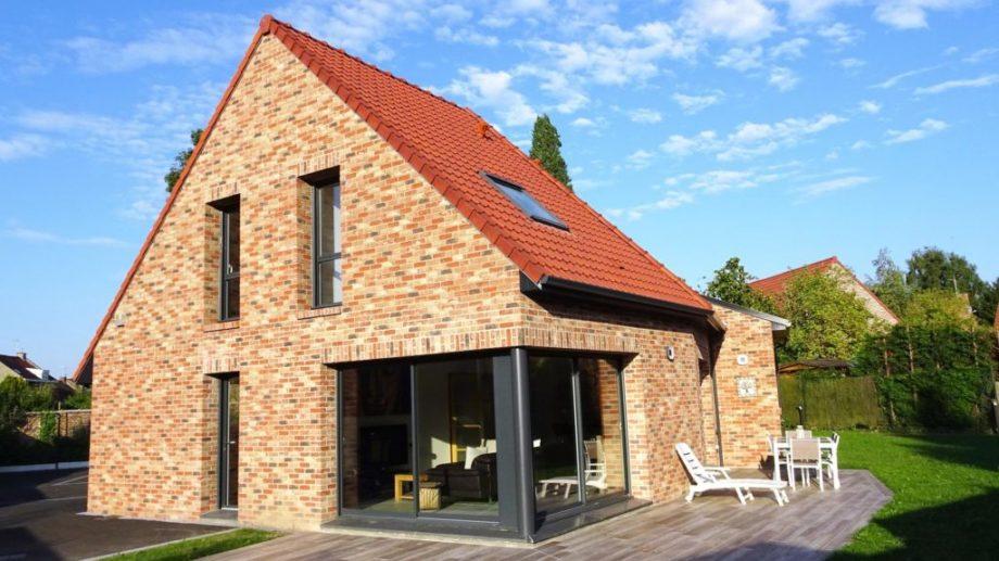 Terrasse maison tendance à Ronchin