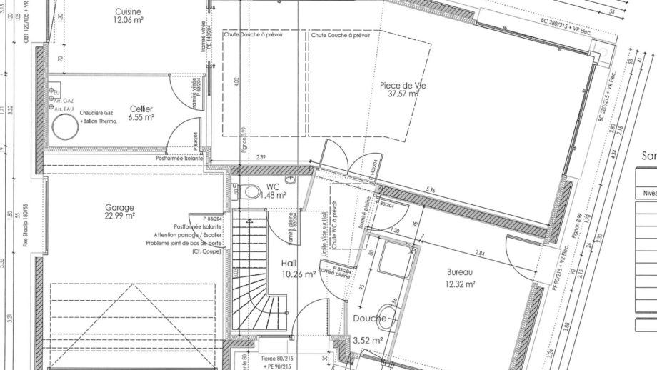 Plan Maisons d'en Flandre