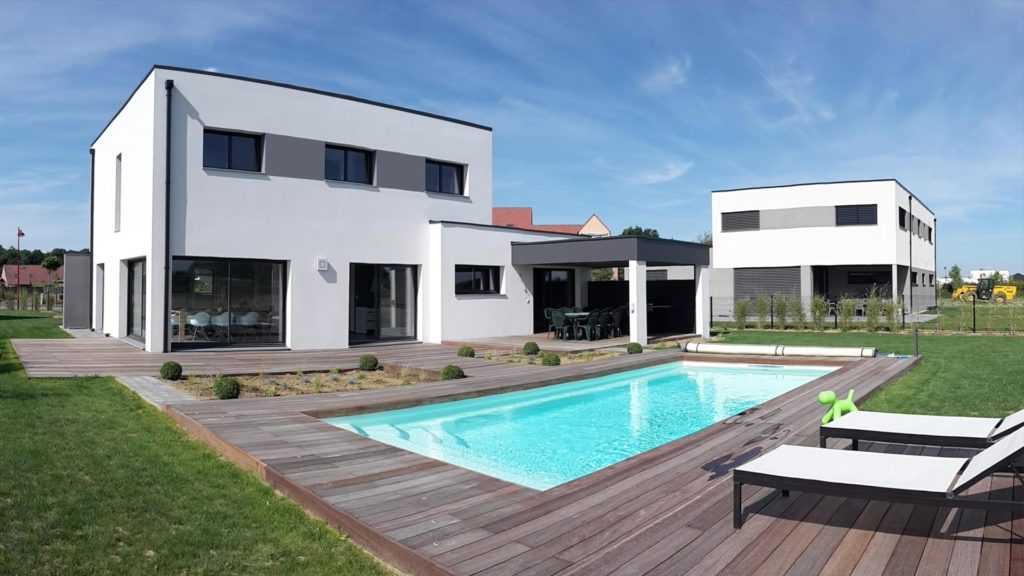 construire une maison tendance avec maisons d 39 en flandre. Black Bedroom Furniture Sets. Home Design Ideas
